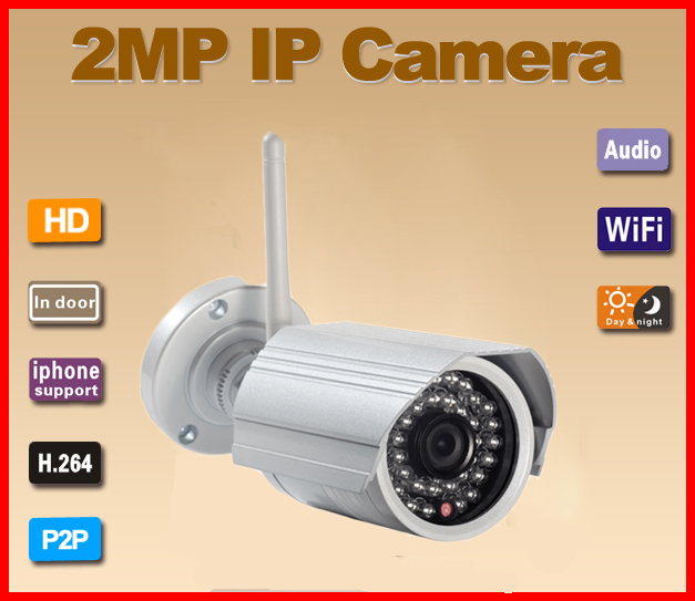 G-Eye03W 2.0MP P2P WIFI One-Key Setting Video Push IP Camera
