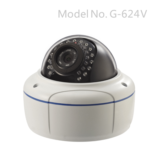G-624V 720P Vandalproof Day&Night Indoor/Outdoor IP Camera