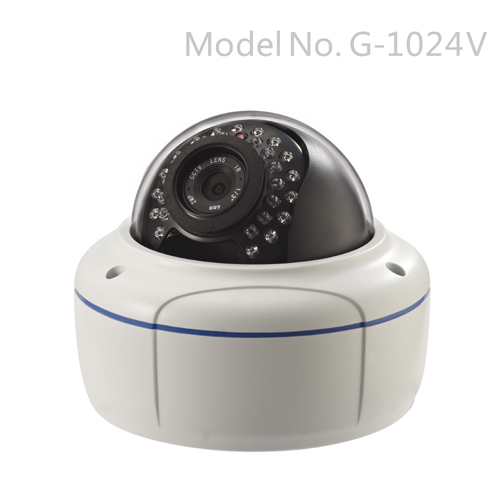 G-1024V 1080P Vandalproof Day&Night Indoor/Outdoor